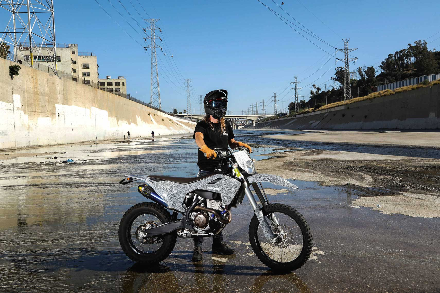 Dirtbike.LA.River